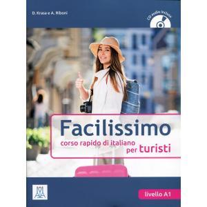 Facilissimo A1 corso rapido de italiano per turisti + CD