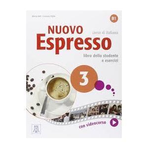 Nuovo Espresso 3 podręcznik + ćwiczenia + DVD