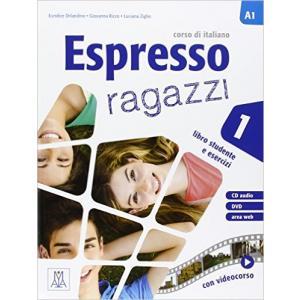 Espresso Ragazzi 1 (A1). Podręcznik + Ćwiczenia + CD + DVD