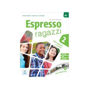 Espresso Ragazzi 2. Podręcznik + Ćwiczenia + CD + DVD
