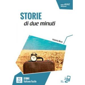 LW Storie di due minuti książka + MP3 online A1/A2