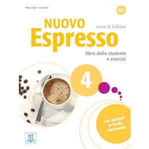 Nuovo Espresso 4 (B2). Podręcznik + Ćwiczenia + CD