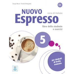 Nuovo Espresso 5 (C1). Podręcznik + Ćwiczenia + CD