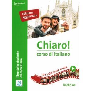 Chiaro! A2 podręcznik + ćwiczenia + video online Edizione aggiornata