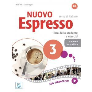 Nuovo Espresso 3 podręcznik + ćwiczenia + ebook interattivo