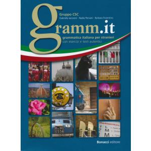 Gramm.it Grammatica Italiana Per Stranieri. Ćwiczenia + Klucz A1-C1