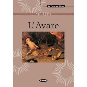 LF L'Avare książka + CD audio