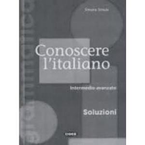 Conoscere italiano Intermedio-avanzado Soluzioni