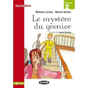 LF Le mystere du grenier książka + Audio online Niveau 2
