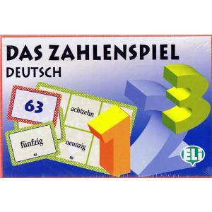 Gra językowa Niemiecki Das Zahlenspiel Deutsch. Opr. karton