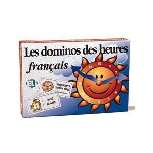 Gra językowa Francuski Les dominos des heures Francais