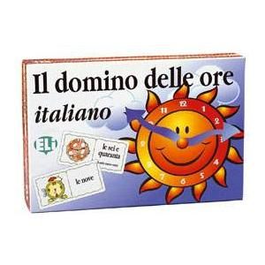 Gra językowa Włoski Domino delle ore italiano