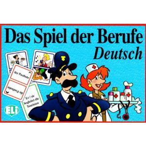 Gra językowa Niemiecki Das Spiel der Berufe. Opr. karton