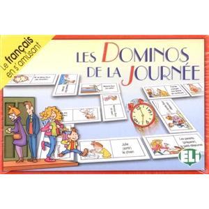 Gra językowa Francuski Les Dominos de la Journee OOP