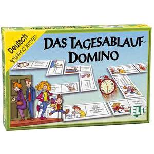 Gra Językowa Niemiecki. Das Tagesablauf-Domino