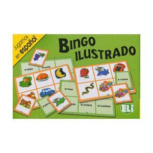 Gra językowa Hiszpański Bingo ilustrado OOP