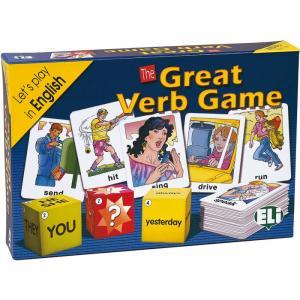Gra językowa Angielski Great Verb Game. Opr. karton