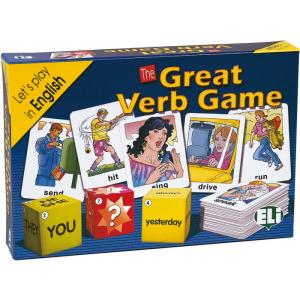 Gra językowa Angielski Great Verb Game. OOP