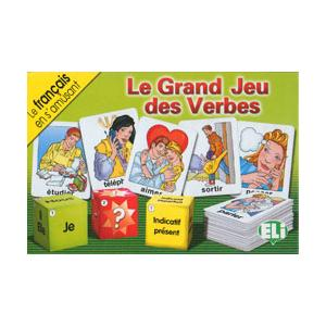 Gra językowa Francuski Le Grand Jeu des Verbes OOP