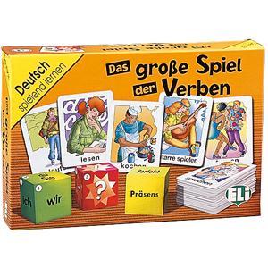 Gra językowa Niemiecki Das grosse Spiel der Verben. OOP