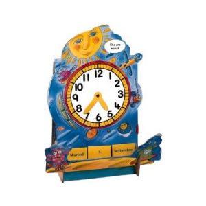 L'orologio. Nauka Czasu Zegarowego i Daty. Język Włoski