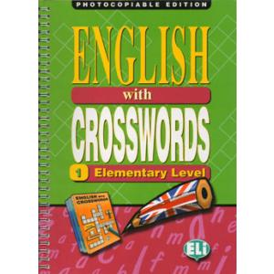 English with Crosswords 1 elementary Photocopiable