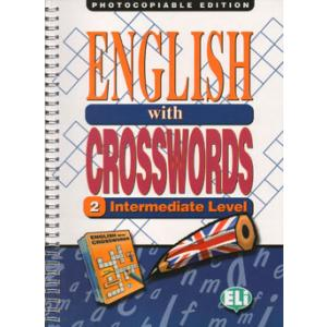 English with Crosswords 2 intermediate Photocopiable