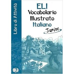 Vocabolario ilustrato italiano Junior Attivita