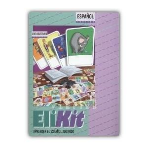 Gra językowa Hiszpański EliKit Los Adjetivos