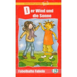 Der Wind und die Sonne + CD. Lesen Leicht Gemacht