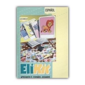 Gra językowa Hiszpański EliKit Los animales