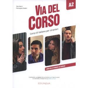 Via del Corso A2 podręcznik + ćwiczenia + materiał online