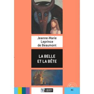 La Belle et la Bete książka + CD A1