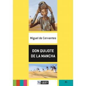 Don Quijote de La Mancha książka + CD B1