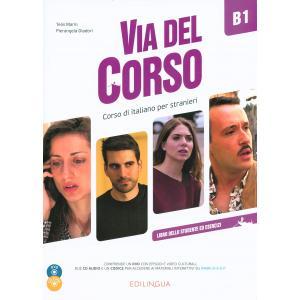Via del Corso podręcznik + ćwiczenia + CD + DVD B1