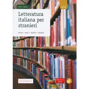 Letteratura italiana per stranieri + CD. Poziom B2-C2