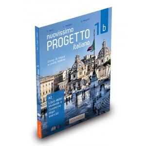 Nuovissimo Progetto Italiano 1B A2. Podręcznik + Ćwiczenia + CD