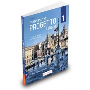 Nuovissimo Progetto Italiano 1 A1-A2. Podręcznik + DVD