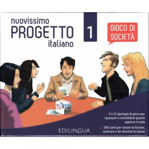 Nuovissimo Progetto italiano 1 A1-A2 Gioco di societa
