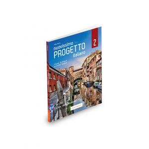 Nuovissimo Progetto italiano 2 B1-B2 podręcznik + DVD