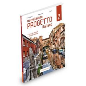 Nuovissimo Progetto italiano 2 B1-B2 ćwiczenia + CD