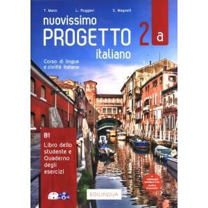 Nuovissimo Progetto italiano 2A podręcznik + ćwiczenia + CD B1