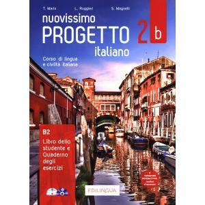 Nuovissimo Progetto italiano 2B podręcznik + ćwiczenia + CD B1