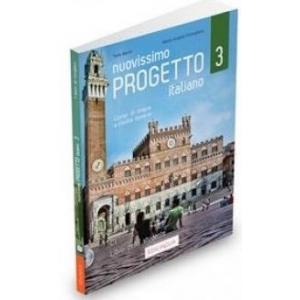 Nuovissimo Progetto italiano 3 C1 podręcznik + DVD