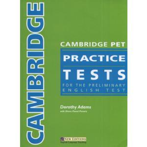 Cambridge PET Practice Tests. Podręcznik z Kluczem + CD