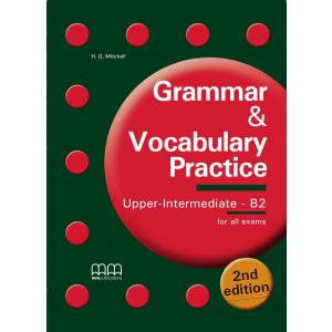 Grammar and Vocabulary Practice. Upper Intermediate B2. Podręcznik