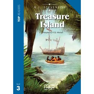 Treasure Island. Top Readers + Glossary + CD