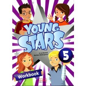 Young Stars 5. Ćwiczenia + CD
