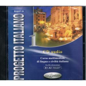Nuovo Progetto Italiano 1. Audio CD