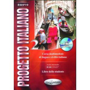 Nuovo Progetto Italiano 2. Podręcznik + CD